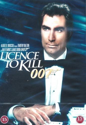 007 James Bond - Licence to kill/Tid för hämnd DVD (beg)