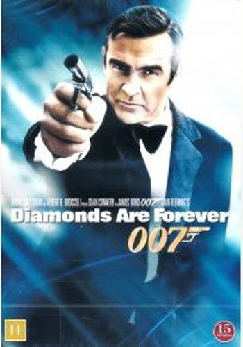 007 James Bond - Diamonds are forever/Diamantfeber DVD (beg)