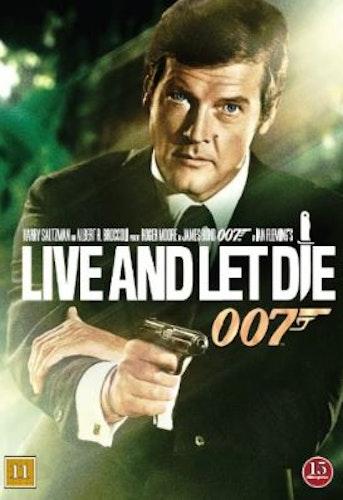 007 James Bond - Live and let die/Leva och låta dö DVD (beg)