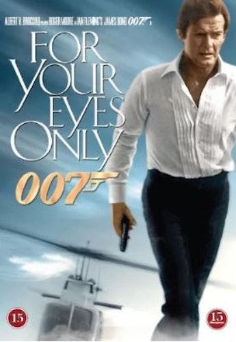 007 James Bond - For your eyes only/Ur dödlig synvinkel DVD (beg)