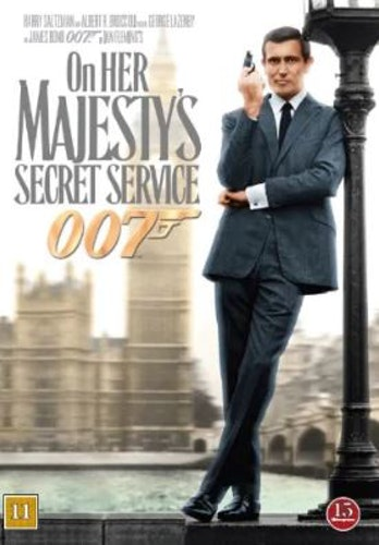 007 James Bond - On her Majesty's secret service/I hennes majestäts hemliga tjänst DVD (beg)
