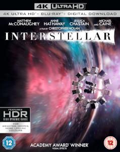 Interstellar 4K UHD bluray