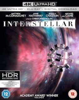 Interstellar 4K UHD bluray