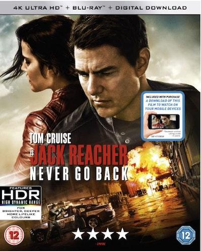 Jack Reacher Never Go Back 4K Ultra HD
