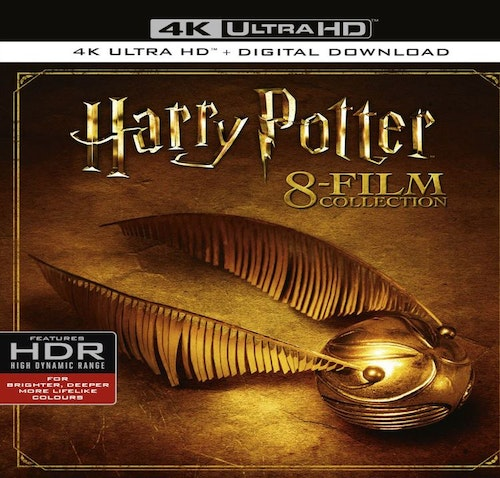 Harry Potter Complete Collection 4K Ultra HD (import Sv text)
