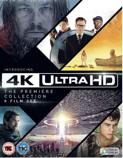 The Premiere Collection (6 Films) 4K Ultra HD (import Sv text)