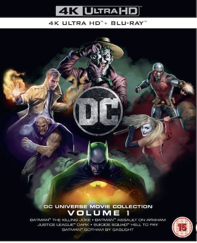DC Animated Collection Volume 1 4K Ultra HD (import)