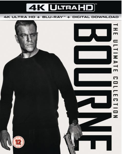 Jason Bourne Collection 4K Ultra HD (import med svensk text)