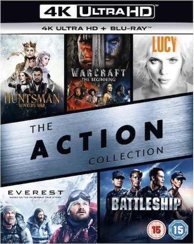 The Action Collection (5 Films) 4K Ultra HD (import med svensk text)