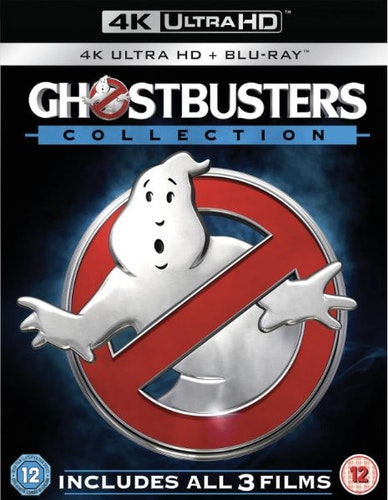 Ghostbusters 1-3 Collection (6 Disc 4K Ultra HD & Blu-Ray) (import Sv text)