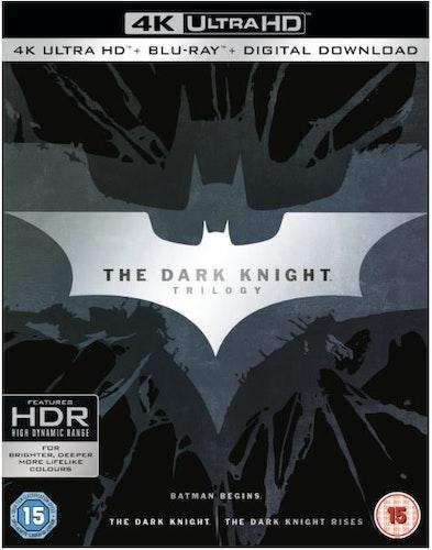 Batman The Dark Knight Trilogy - 4K Ultra HD (import med svensk text)
