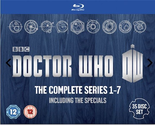 Doctor Who Säsong 1-7 - Including Specials Bluray (import)