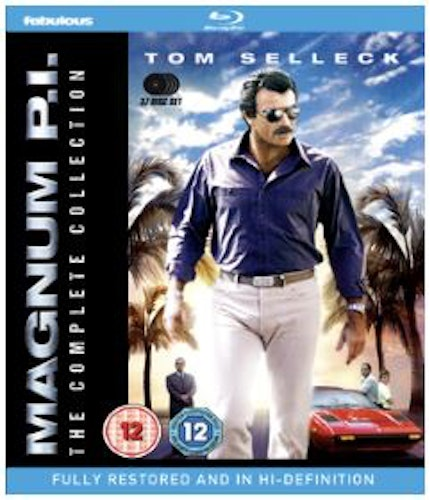 Magnum PI Säsong 1-8 Complete Collection Blu-Ray (import)