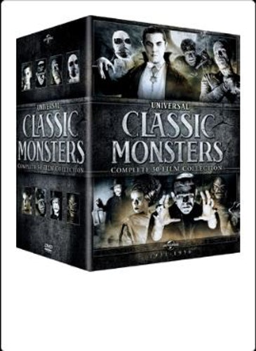 Universal Classic Monsters Complete 30 Film Collection Bluray (import)