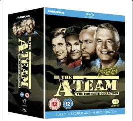 The A-Team Säsong 1-5 Complete Collection BluRay (import)