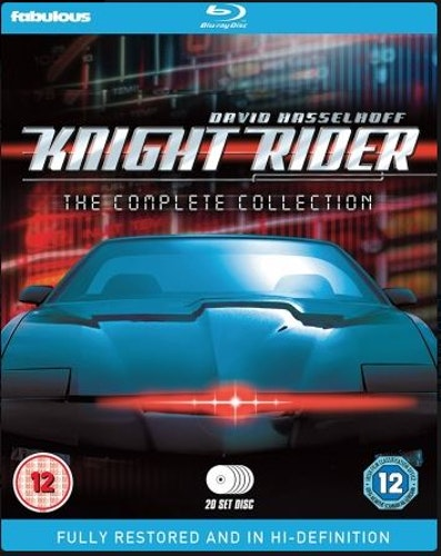 Knight Rider Säsong 1-4 Complete Collection bluray (import)