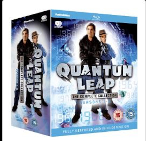 Quantum Leap Säsong 1-5 Complete Collection bluray (import)