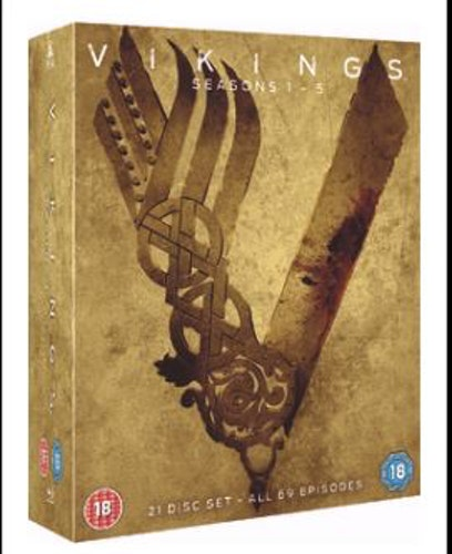 Vikings Säsong 1-5 bluray (import)