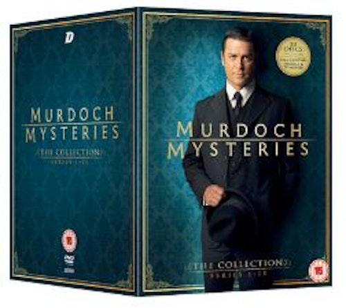 Murdoch Mysteries - The Collection Seasons 1 to 11 2008 DVD (import)