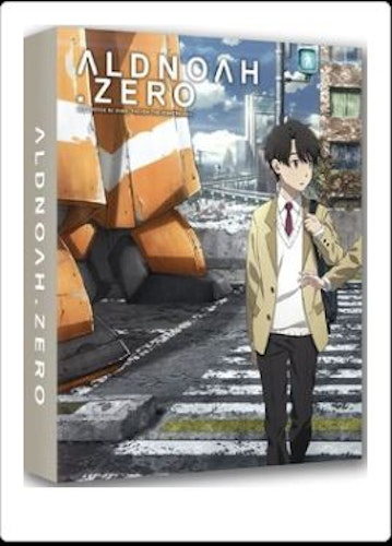 Aldnoah Zero säsong 1 Collectors Edition bluray (import)