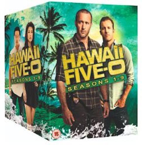 Hawaii Five-0 Seasons 1 to 9 2010 DVD (import)