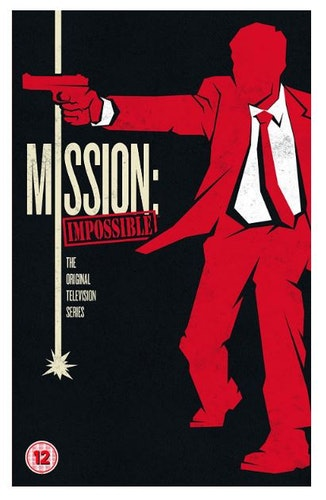 Mission Impossible Series 1 to 7 Complete Collection 1966 DVD (import med Svensk text)