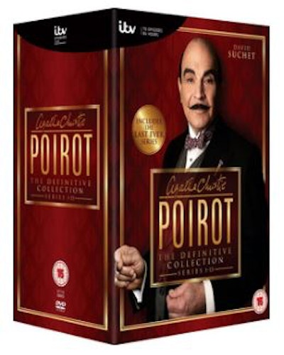 Poirot Series 1 to 13 Complete Collection 1989 DVD (import)