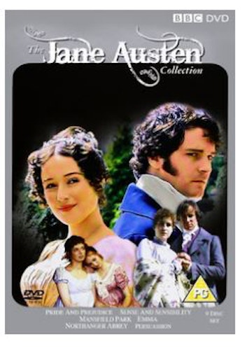 The Jane Austen Collection (6 Films) 1972 DVD (import)
