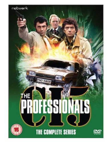 The Professionals Complete Collection 1977 DVD (import)