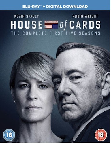 House Of Cards Säsong 1-5 bluray