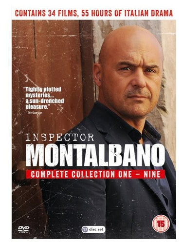 Inspector Montalbano - Complete Collections 1 to 9 1999 DVD (import)