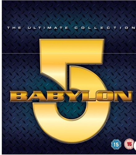 Babylon 5 Seasons 1 to 5 Complete Collection 1993 DVD (import)