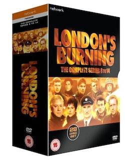 Londons Burning Series 8 to 14 1995 DVD ej svensk text