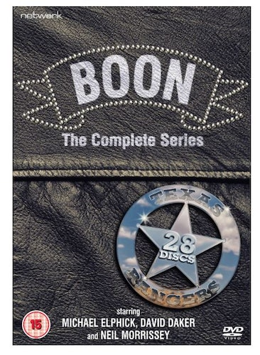 Boon Series 1 to 7 Complete Collection 1986 DVD (import)