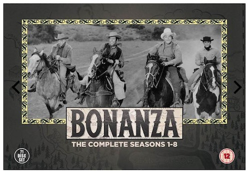 Bonanza Seasons 1 to 8 Complete Collection 1959 DVD (import)