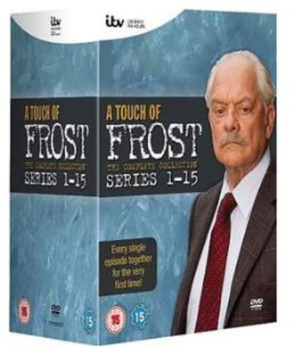 A Touch Of Frost Series 1 to 15 Complete Collection 2012 DVD (import)