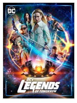 DC Legends Of Tomorrow Season 1 to 4 2016 DVD (import)
