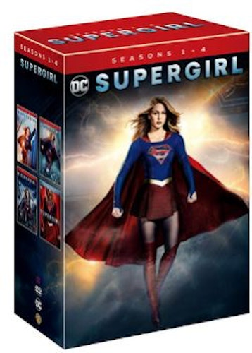 Supergirl Season 1 to 4 2015 DVD (import)