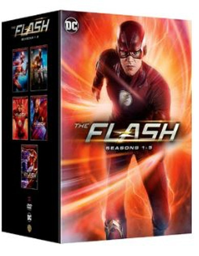The Flash Season 1 to 5 2014 DVD (import)