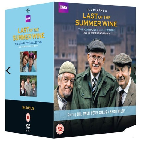 Last Of The Summer Wine Series 1 to 31 Complete Collection 1975 DVD (import)