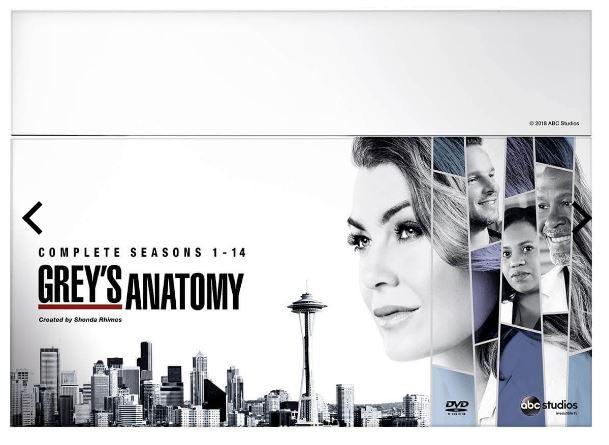 Greys Anatomy Seasons 1 to 14 DVD (import med sv. text)