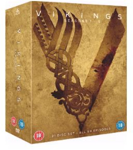 Vikings Seasons 1 to 5 2013 DVD (import)