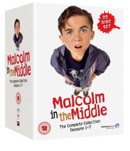 Malcolm In The Middle Seasons 1 to 7 Complete Collection 2002 DVD (import)