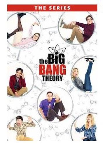 The Big Bang Theory Säsong 1-12 2007 DVD