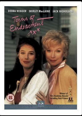 Terms Of Endearment DVD Ömhetsbevis (import)