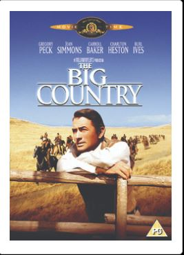 The Big Country DVD (import)
