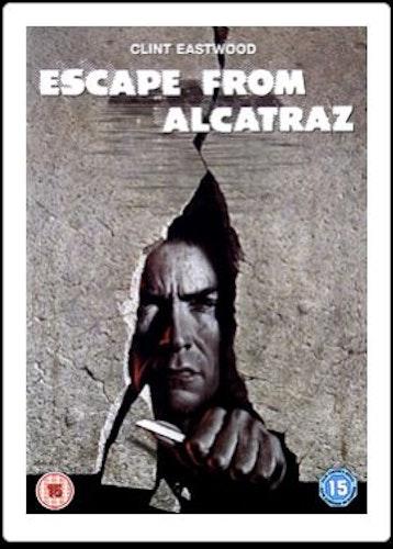 Flykten Från Alcatraz DVD (import)