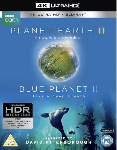 Planet Earth II + Blue Planet II 4K Ultra HD (import)
