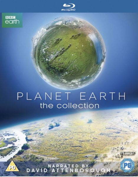 Planet Earth - The Collection Bluray 1+2 (import)