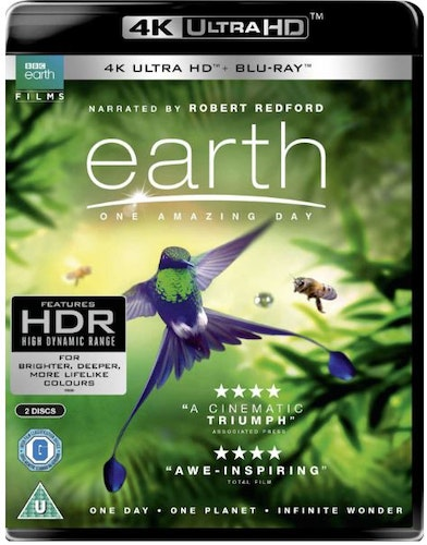 Earth One Amazing Day 4K Ultra HD (import)